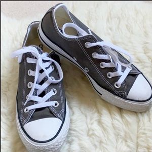 CONVERSE All Star sneakers size 6 womens grey